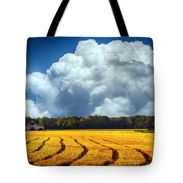 Amber Fields Tote Bag