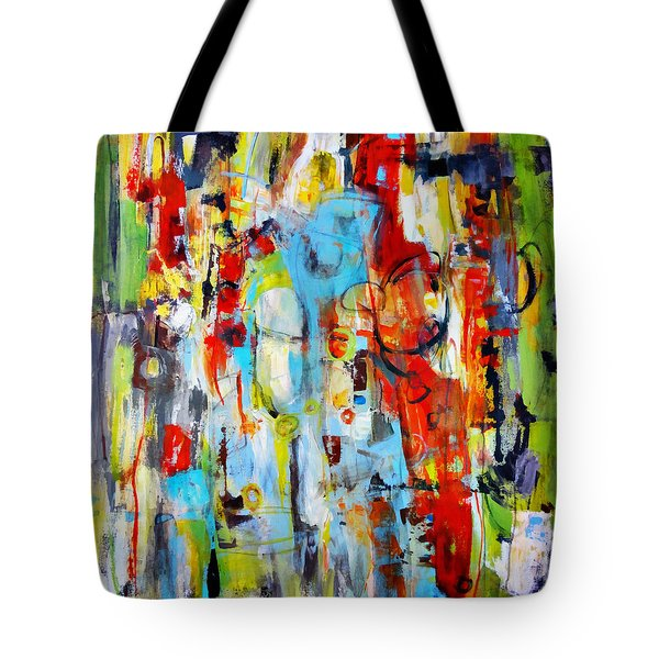 Ambidextrous Tote Bag by Katie Black