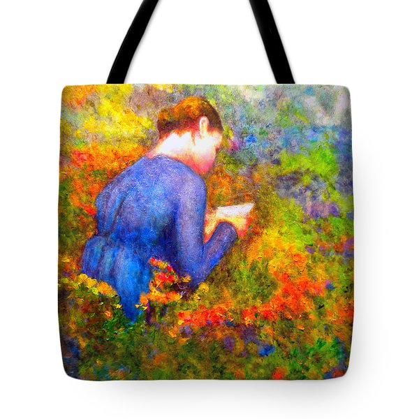 Ambrosia's Love Letter Tote Bag by Michael Durst