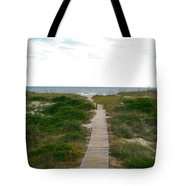 Amelia Island Beach Tote Bag