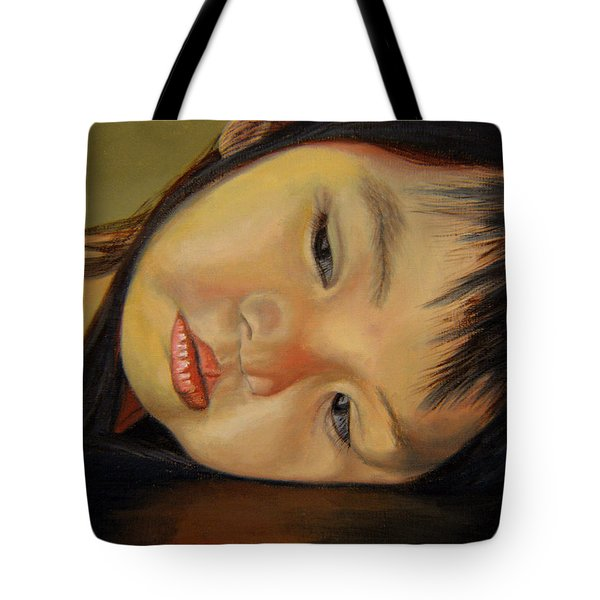 Amelie-an 12 Tote Bag by Thu Nguyen