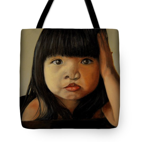 Amelie-an 5 Tote Bag by Thu Nguyen
