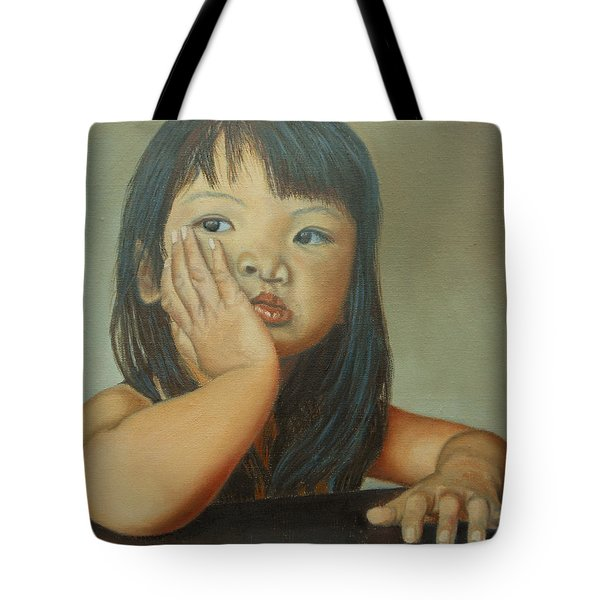 Amelie-an 6 Tote Bag by Thu Nguyen