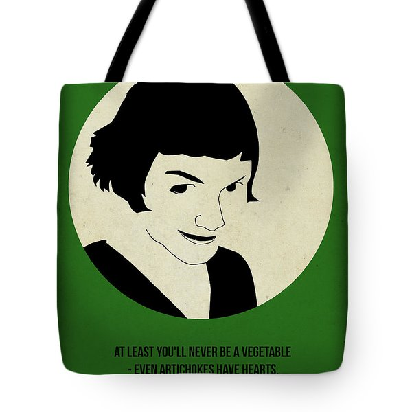Amelie Poster Tote Bag by Naxart Studio