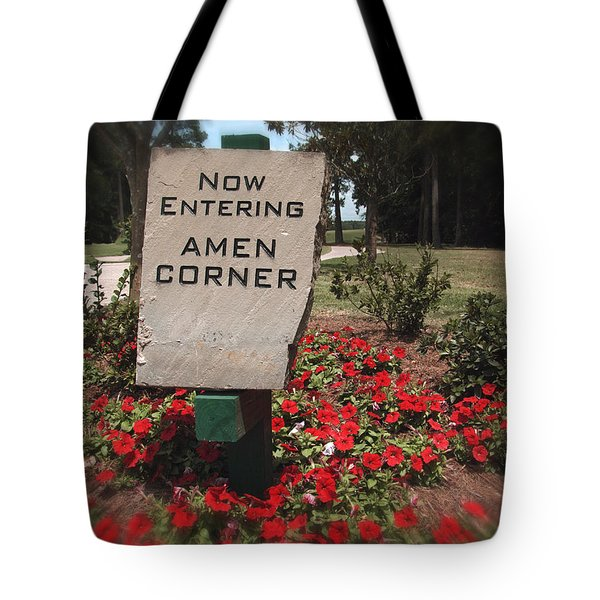 Amen Corner - A Golfers Dream Tote Bag