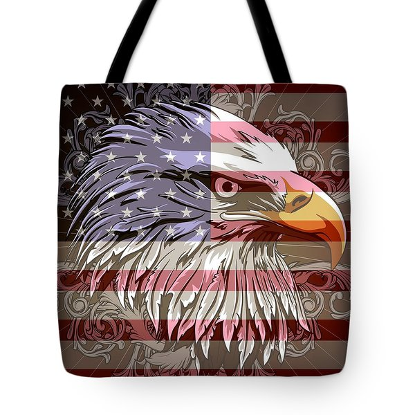 America The Beautiful Tote Bag by Stanley Mathis