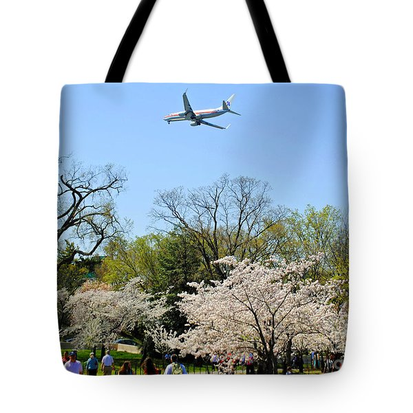 American Airlines Tote Bag by Jost Houk