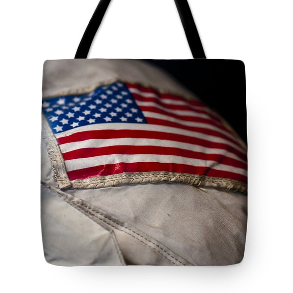 American Astronaut Tote Bag by Christi Kraft