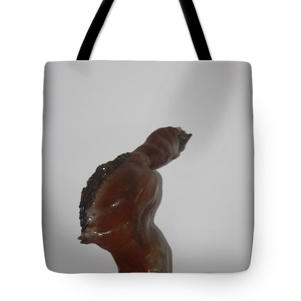 Tote Bag featuring the sculpture American Athlete...inspiration Gail Devers by Gloria Ssali