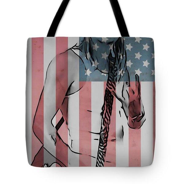 American Badass Tote Bag by Dan Sproul
