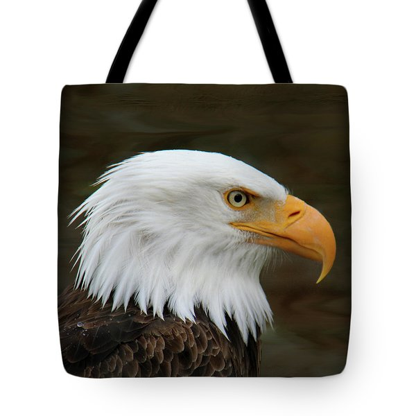 Tote Bag featuring the photograph American Bald Eagle by Bob and Jan Shriner