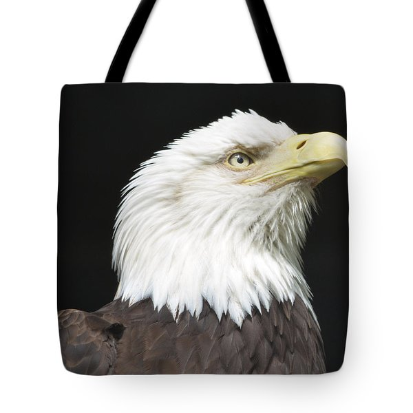 American Bald Eagle Profile Tote Bag by Richard Bryce and Family