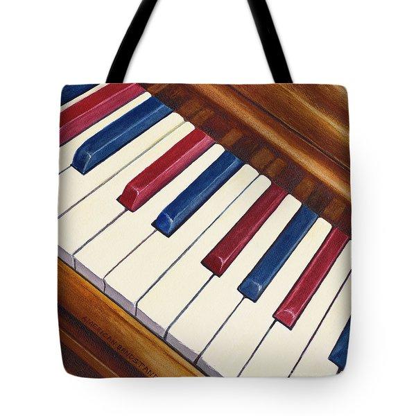 American Bandstand Tote Bag