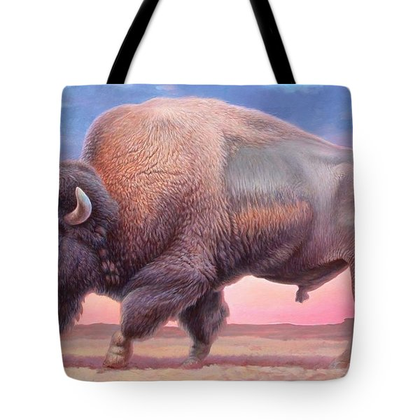 American Buffalo Tote Bag