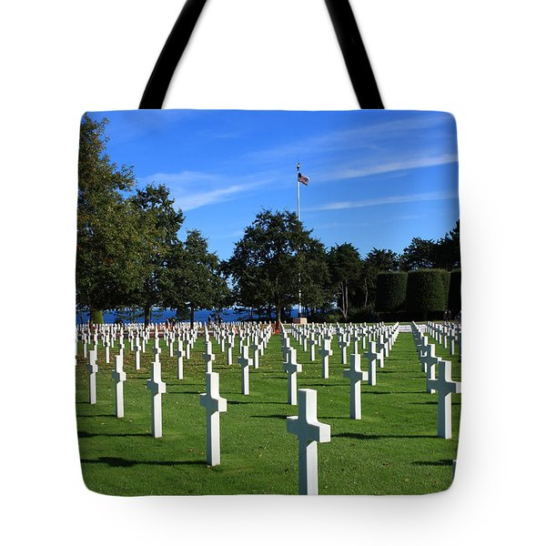 American Cemetery Normandy Tote Bag