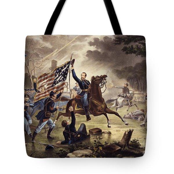 American Civil War General   Philip Kearny Tote Bag