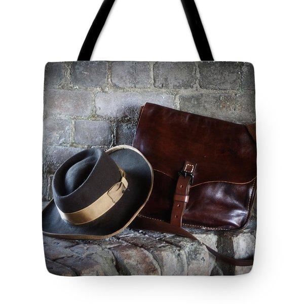 American Civil War Hat And Sack Tote Bag