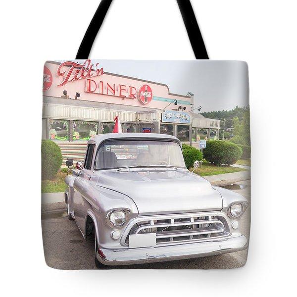 American Classics Tilton Diner Classic Pickup Truck Tote Bag