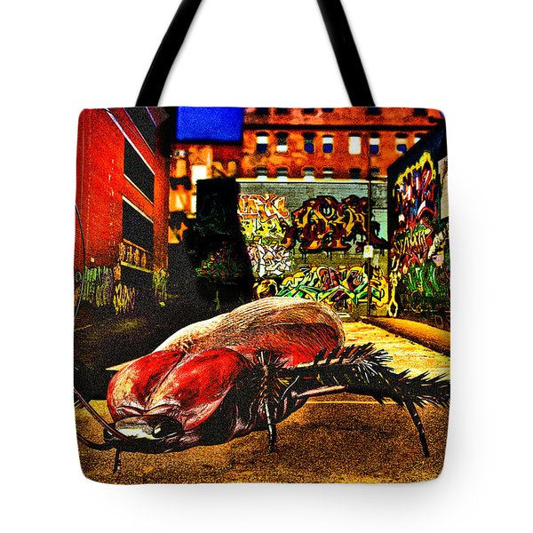 American Cockroach Tote Bag by Bob Orsillo