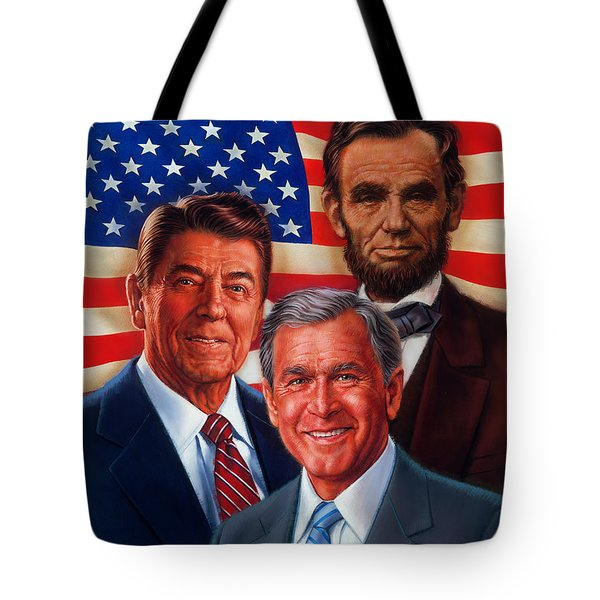 American Courage Tote Bag