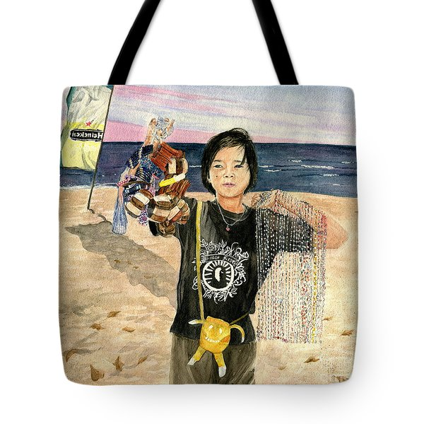 American Dream Girl Tote Bag