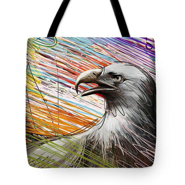 American Eagle Tote Bag by Peter Awax