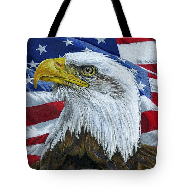 American Eagle Tote Bag by Sarah Batalka