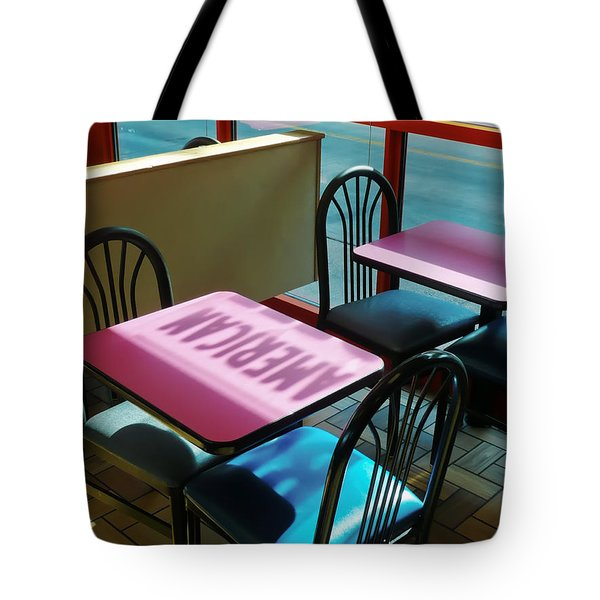 Tote Bag featuring the photograph American Fast Food by David Perry Lawrence