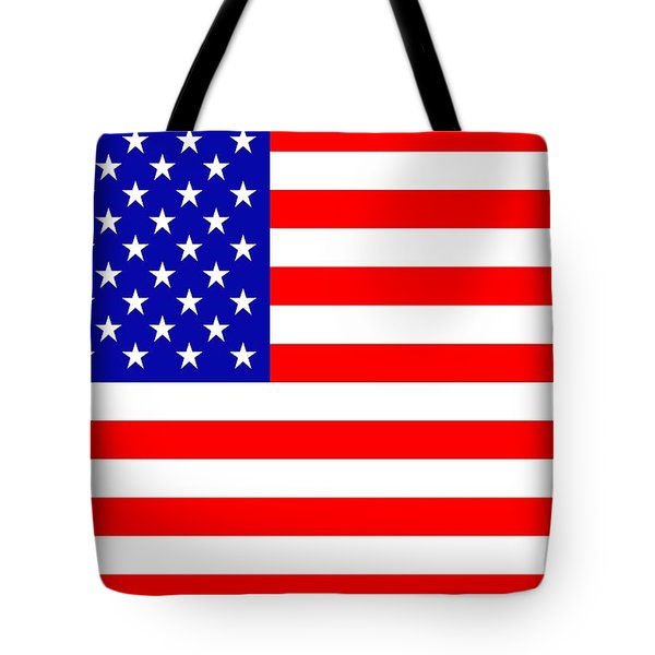 American Flag Tote Bag by Tommytechno Sweden