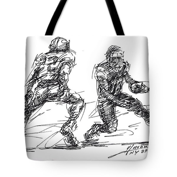 American Football 3 Tote Bag