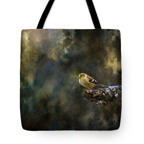 American Goldfinch 4 Tote Bag by Deena Stoddard