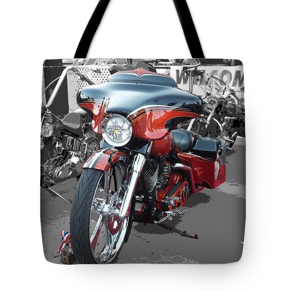 American Heat - Palm Springs Tote Bag by Glenn McCarthy Art and Photography