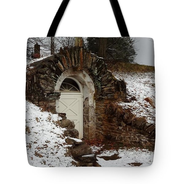 American Hobbit Hole Tote Bag by Michael Porchik