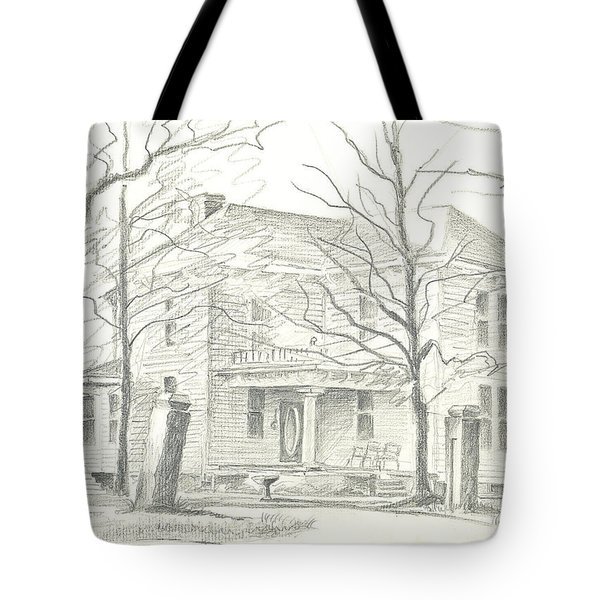 American Home II Tote Bag by Kip DeVore