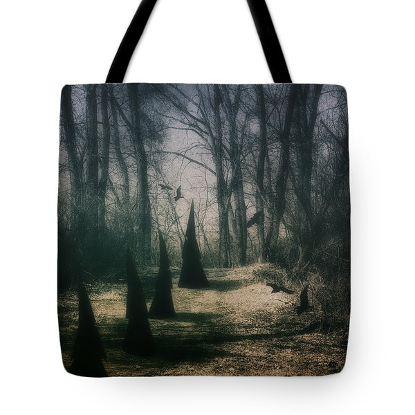 American Horror Story - Coven Tote Bag by Tom Mc Nemar