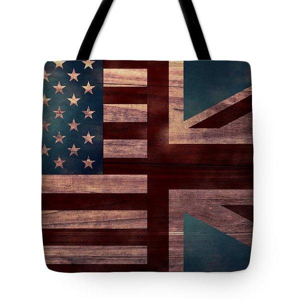 American Jack II Tote Bag by April Moen