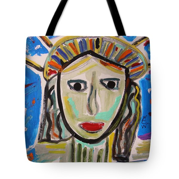 American Lady Tote Bag by Mary Carol Williams