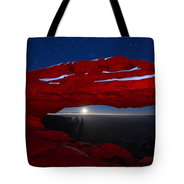 American Moonrise Tote Bag