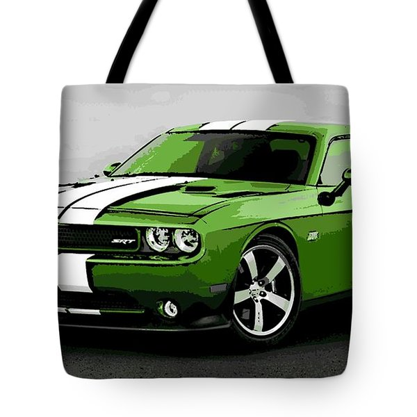 American Muscle Tote Bag by George Pedro