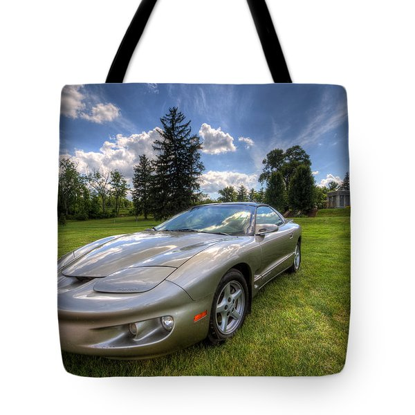American Musclecar Firebird Tote Bag