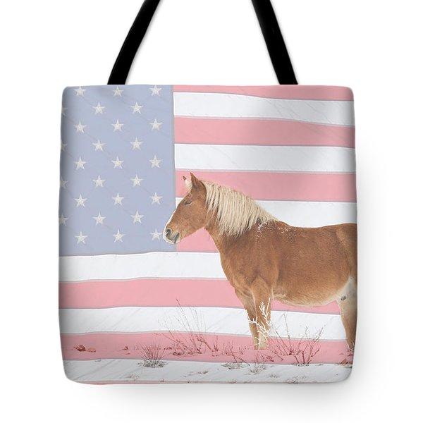 American Palomino Tote Bag by James BO  Insogna