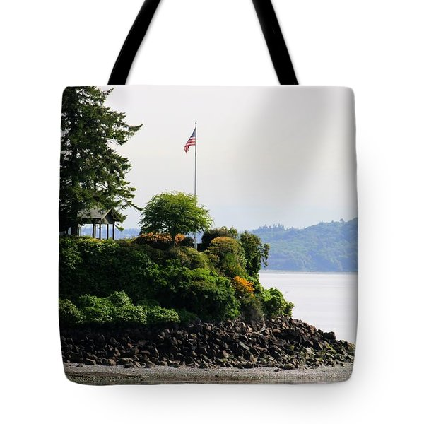 American Pride Tote Bag by Tap On Photo