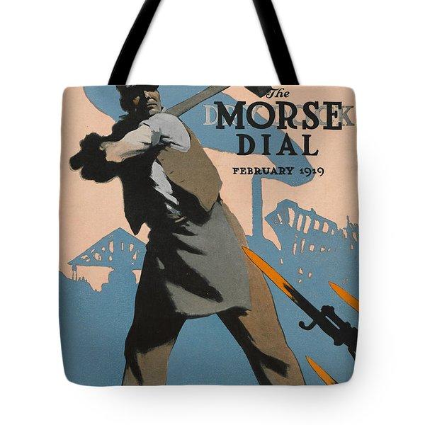 American Shipbuilder Tote Bag by Edward Hopper