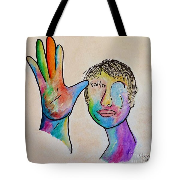 American Sign Language  Father Tote Bag