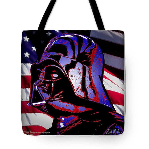 Tote Bag featuring the digital art American Sith by Dale Loos Jr