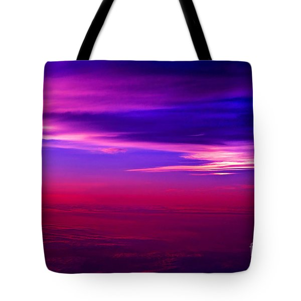 Tote Bag featuring the photograph American Sky by Adam Olsen