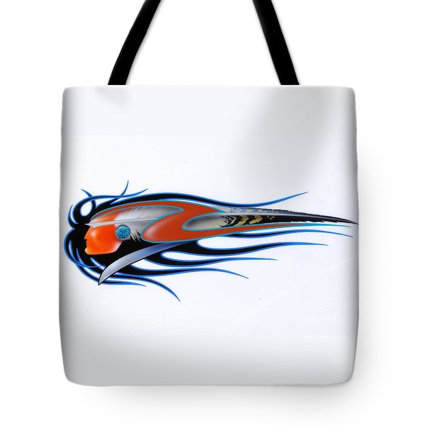 American Sprit  Tote Bag by Alan Johnson