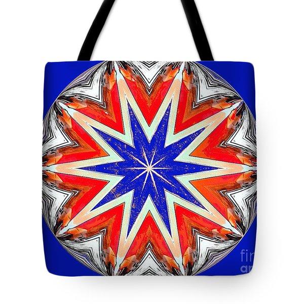American Star Tote Bag by Annette Allman