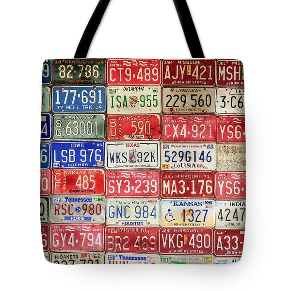 American Transportation Tote Bag