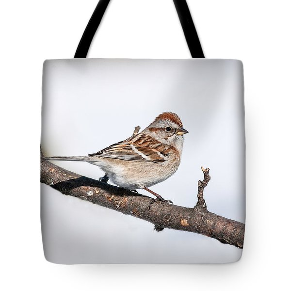 American Tree Sparrow Tote Bag